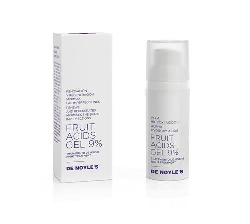 DE NOYLE'S Fruit Acids Gel 9%. 50ML