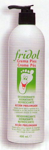 Fridol Crema Pies 400 ml.