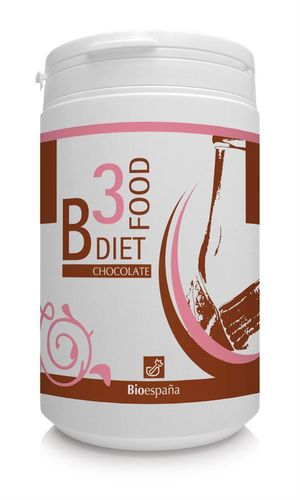 B3 DIET FOOD CHOCOLATE 400g CONTROL DE PESO Bioespaña
